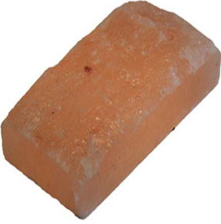 Соляной кирпич необработанный из Гималайской соли 20x10x5см