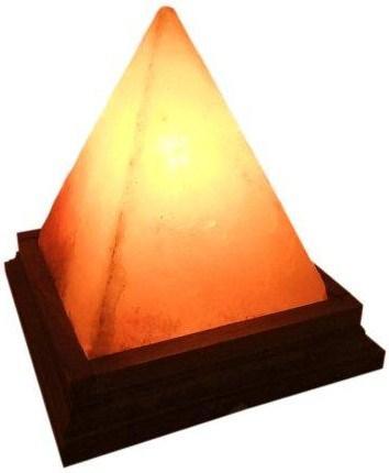 """Лампа """"Пирамида"""" из гималайской соли"""