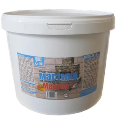 Мастика термостойкая Мастер+ 6 кг