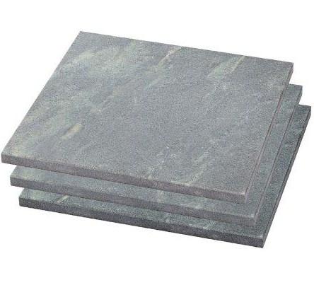 Плитка из талькохлорита 300х150х10 мм шлифованная