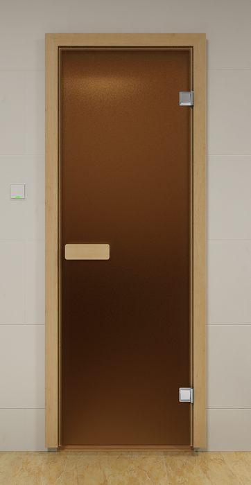 Дверь ALDO 70х190 см - цвет бронза матовая
